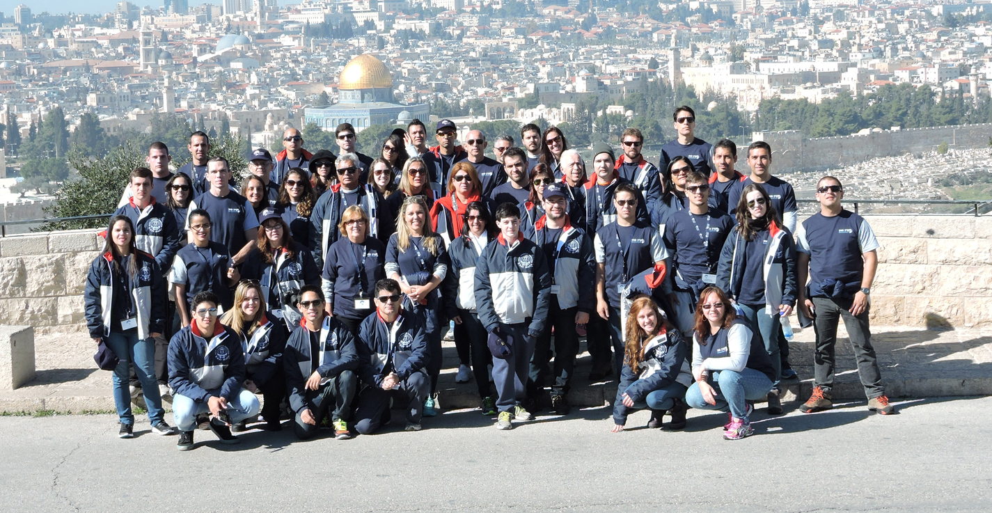 Viagem a Israel com Mestre Kobi